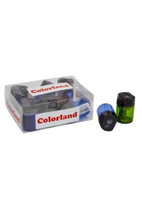 Colorland İki Bölmeli Kalemtraş Çift Renkli 12 Li COLOR-KLT21