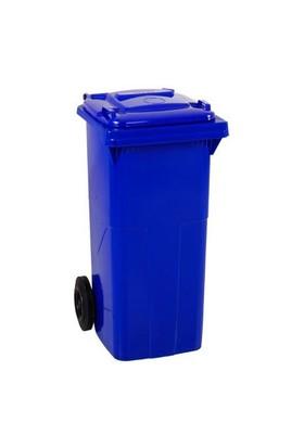 Bahat Plastik Çöp Konteyneri 120 Lt Mavi