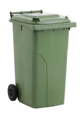 Elif Plastik Çöp Konteyneri 240 Lt- Yeşil