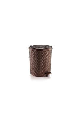 Özer Plastik Hasır Pedallı Çöp Kovası No:4- 20 Lt