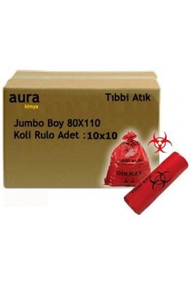 Arslan Plastik Tıbbi Atık Çöp Torbası 80*110 Jumbo-Koli