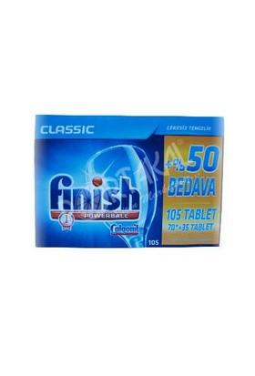 Finish Finish Bulaşık Makinası Tableti 105 Adet