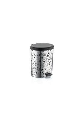 Özer Plastik Metalize Çöp Kovası No:4- 17,5 Lt