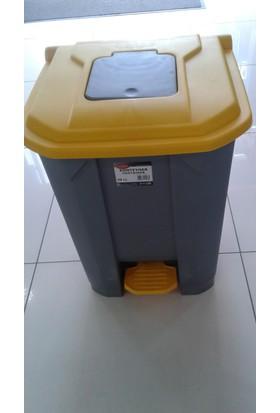 Arslan Plastik Çöp Konteyneri Pedallı 50 Lt