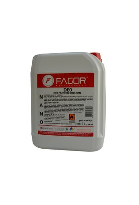 Bayer Kimya Oto Parfümü Fagor Nano Deo 5 Kg