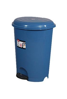 Arslan Plastik Pedallı Çöp Kovası 50 Lt