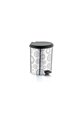 Özer Plastik Metalize Pedallı Çöp Kovası No:2- 6 Lt
