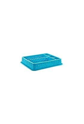 Özer Plastik Dantelli Bulaşıklık Mavi
