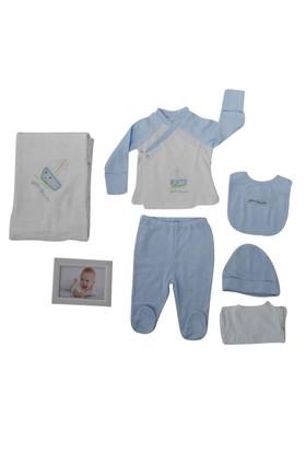 İdil Baby 7877 7'Li Erkek Bebek Hastane Çıkış Seti
