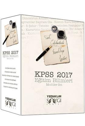 Yediiklim Yayınları Kpss 2017 Eğitim Bilimleri Konu Anlatımlı Modüler Set