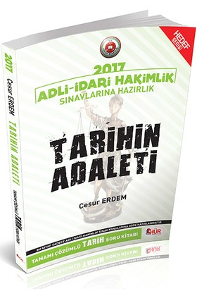Hür Yayınları Adli İdari Hakimlik Tarihin Adaleti