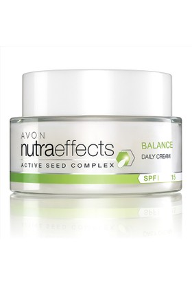Avon Nutra Effects Balance Gündüz Kremi SPF15 - 50ml