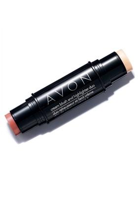 Avon Ideal Flawless Kremsi Allık ve Aydınlatıcı - 8g