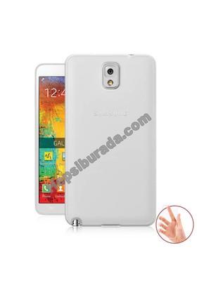 Teknomeg Samsung Galaxy Note 3 Şeffaf Silikon Kılıf