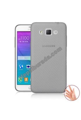 Teknomeg Samsung Galaxy Grand Max Füme Silikon Kılıf