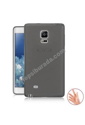Teknomeg Samsung Galaxy Note Edge Füme Silikon Kılıf
