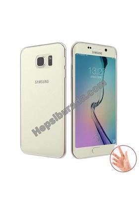 Teknomeg Samsung Galaxy S6 Edge Plus Şeffaf Silikon Kılıf