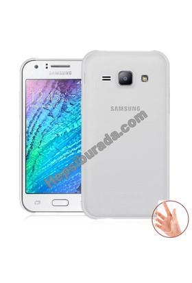Teknomeg Samsung Galaxy J1 Ace Şeffaf Silikon Kılıf
