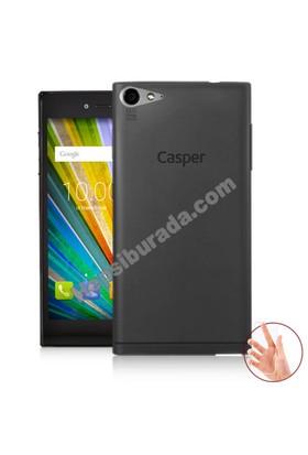 Teknomeg Casper Via V9 Füme Silikon Kılıf