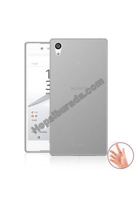 Teknomeg Sony Xperia Z5 Şeffaf Silikon Kılıf