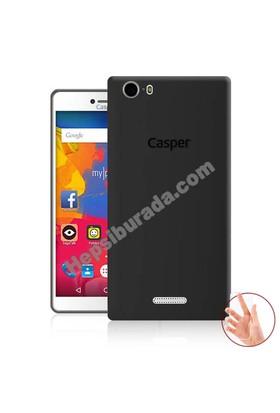 Teknomeg Casper Via M1 Füme Silikon Kılıf