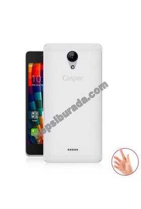 Teknomeg Casper Via E1 Şeffaf Silikon Kılıf