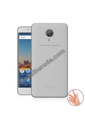 Teknomeg General Mobile Android One Gm5 Plus Şeffaf Silikon Kılıf