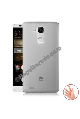 Teknomeg Huawei Mate 7 Şeffaf Silikon Kılıf