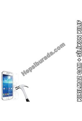 Teknomeg Vodafone Smart 6 Şeffaf Silikon Kılıf + Temperli Cam