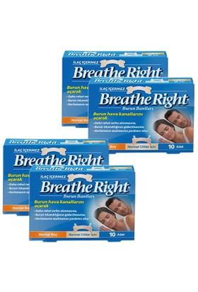 Breathe Right Burun Bandı Normal 10 lu x 4 Adet