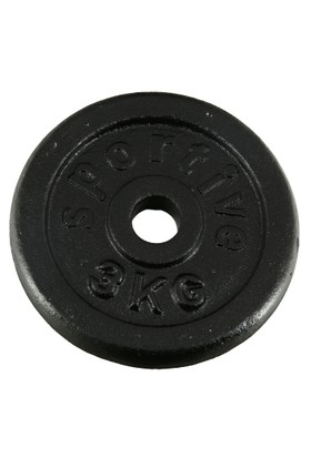 Sportive Döküm Plaka 3 Kg