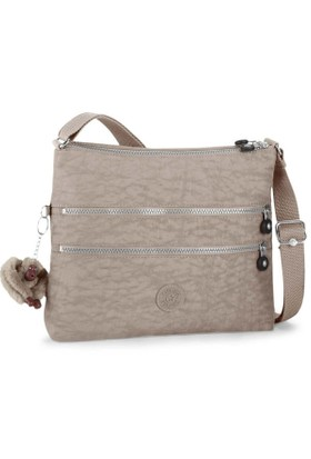 Kipling Alvar Basic Warm Grey Omuz Çantası K13335-828
