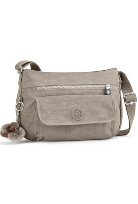 Kipling Syro Basic Warm Grey Omuz Çantası K13163-828