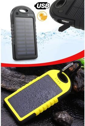 Helen's Led Işıklı 8000 mAh Solar Powerbank