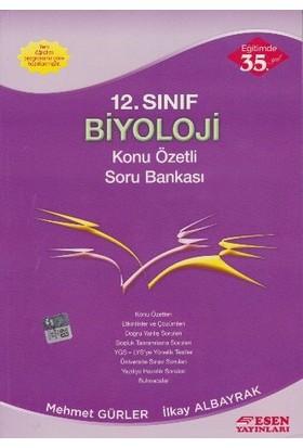 Esen Yayınları 12. Sınıf Biyoloji Konu Özetli Soru Bankası
