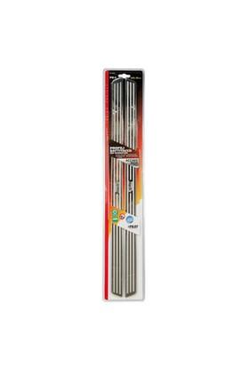 Lampa PB-5 Paslanmaz Eşik Nikelajı 62,5x3,2cm 2'li 02045