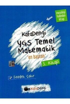 Eksen Yayınları Ygs Kafa Dengi Temel Matematik En Baştan Soru Bankası 3. Kitap