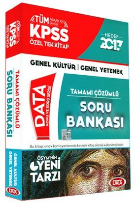 Data Yayınları Kpss 2017 Genel Kültür Genel Yetenek Tamamı Çözümlü Soru Bankası Özel Tek Kitap