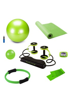 Tristar Dura-Strong Yeşil Pilates Set
