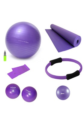 Tristar Dura-Strong Mor Pilates Seti