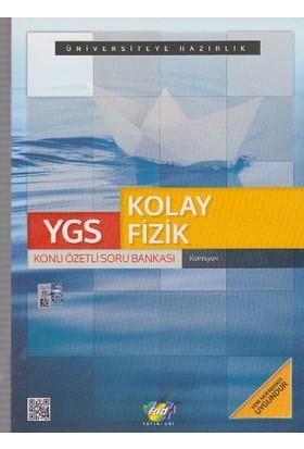 Fdd Yayınları Ygs Kolay Fizik Konu Özetli Soru Bankası