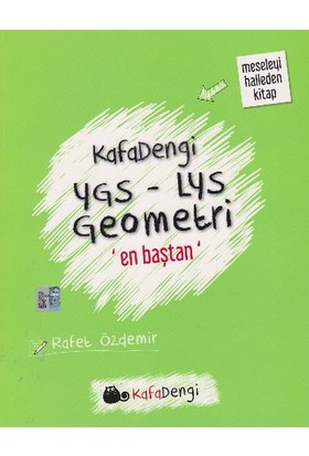 Eksen Yayınları Kafadengi Ygs-Lys Geometri En Baştan