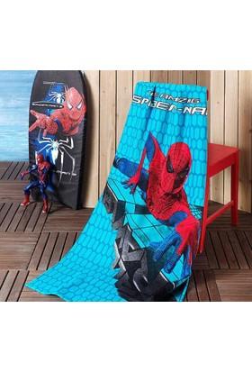 Taç Plaj Havlusu Spiderman Movie 75*150