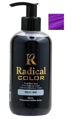 Radikal Jeans Color Amonyasız Boya 250.ML MOR