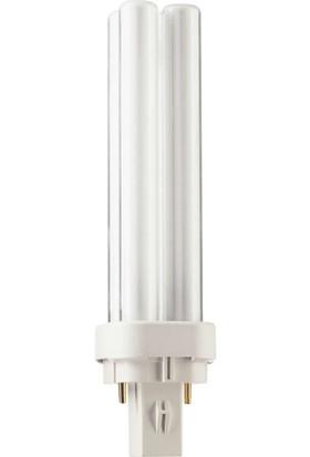 MASTER PL-C 13W/840/2P 1CT/5X10BOX 4000K Beyaz Enerji Tasarruflu Ampul