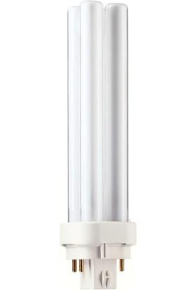 MASTER PL-C 18W/830/4P 1CT/5X10BOX 3000K Günışığı Enerji Tasarruflu Ampul