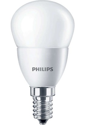 CorePro lustre ND 5.5-40W E14 827 P45 FR 2700K Günışığı LED Ampul