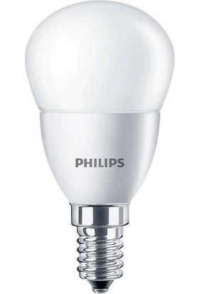 CorePro lustre ND 5.5-40W E14 840 P45 FR 4000K Beyaz LED Ampul
