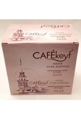 Cafekeyf Sade Hazır Türk Kahvesi 12'li