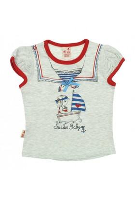 Modakids Kız Bebek Tshirt (1 - 3 Yaş) 019-733-011